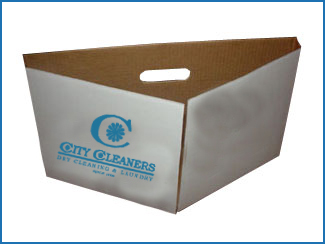 Hanger recycling box